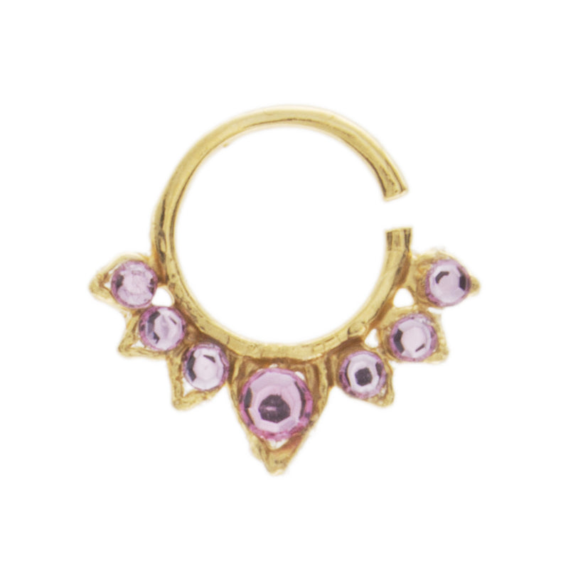 Fancy Pink Aurora Ring
