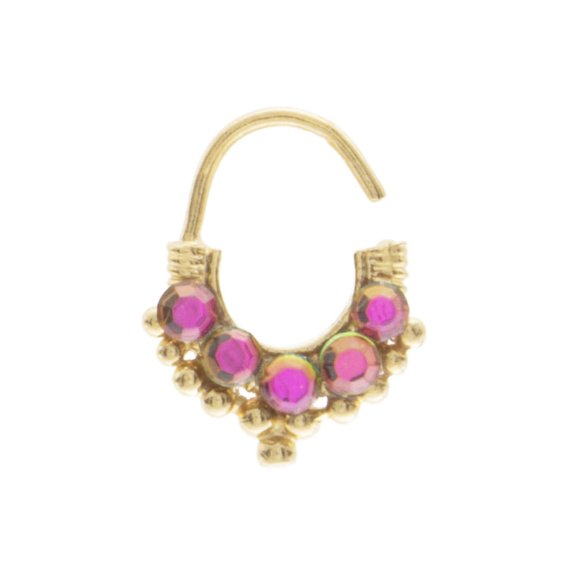 Pink Jewel Sadeh Ring