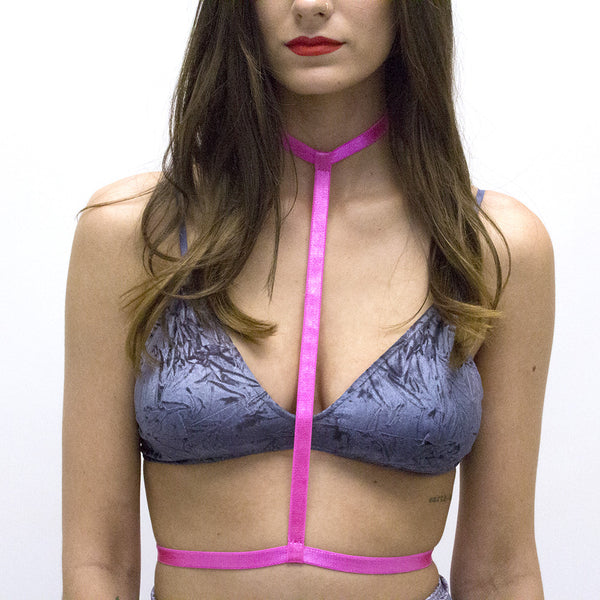 Hot Pink Body Harness