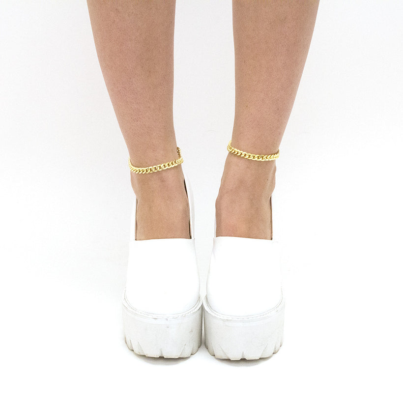 Medium Gold or Silver Anklets