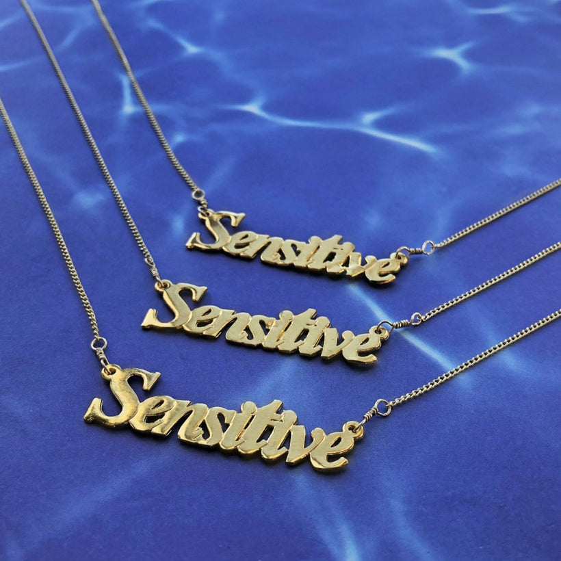 Sensitive Nameplate Choker