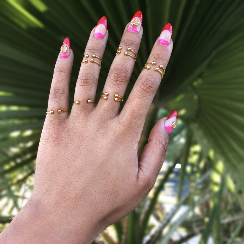 Theia Ring Set