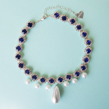 Sailor Mercury Pearl Choker