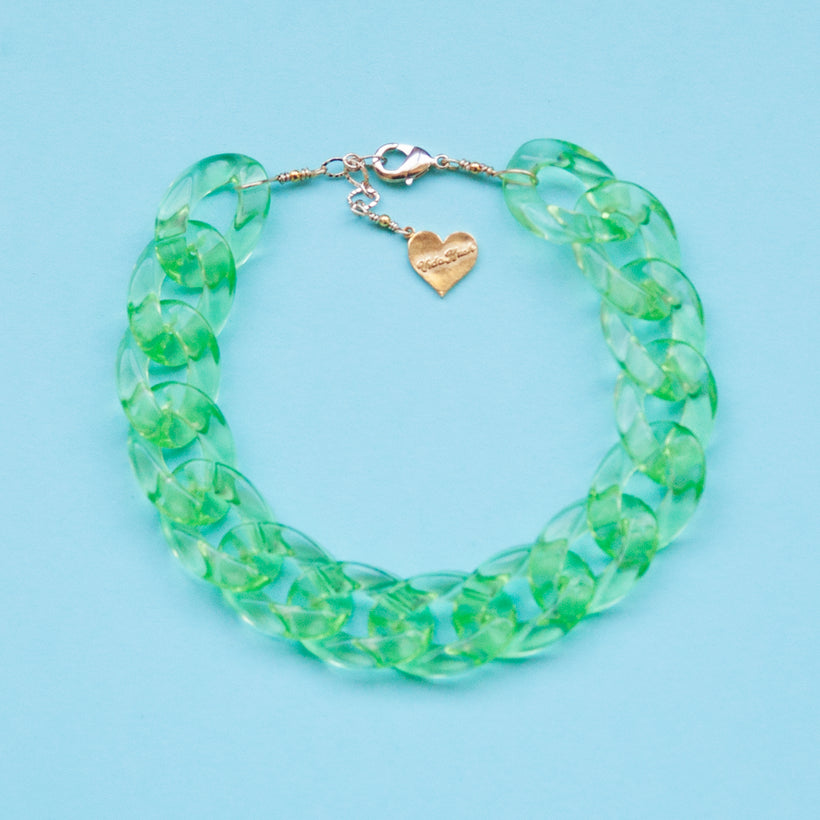 Crystal Clear Color Anklet