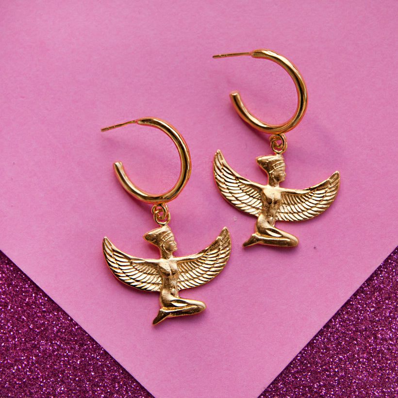 Isis Hoop Earrings