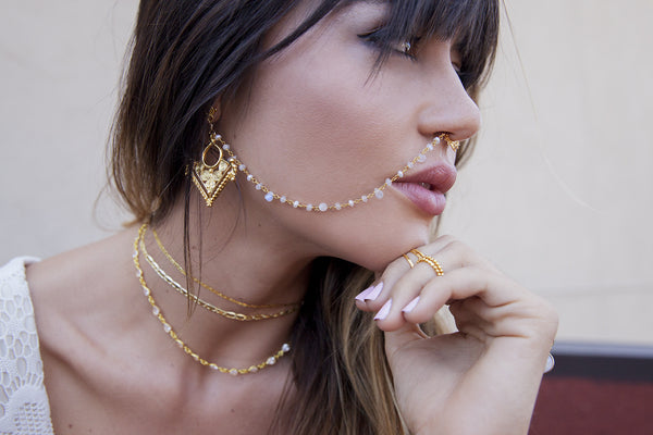 Sahara Nose Chain