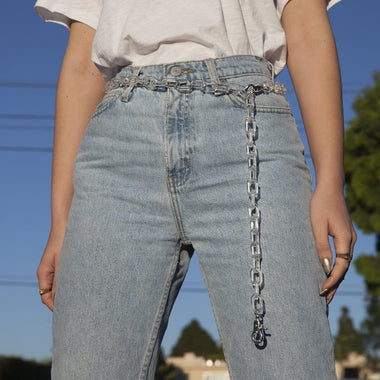 Crystal Clear Chain Belt