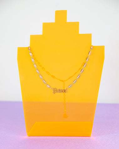 Poison Rectangle Prism Choker