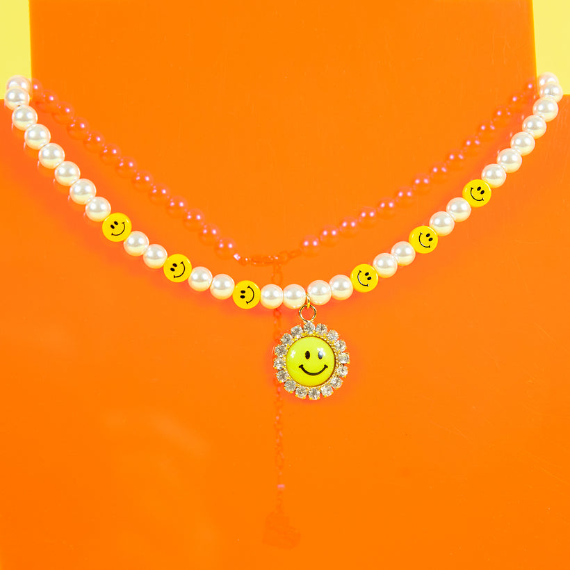 Pearl Smiley Necklace