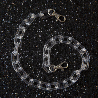 Crystal Clear Pocket Chain