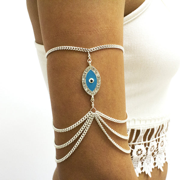 Evil Eye Arm Chain