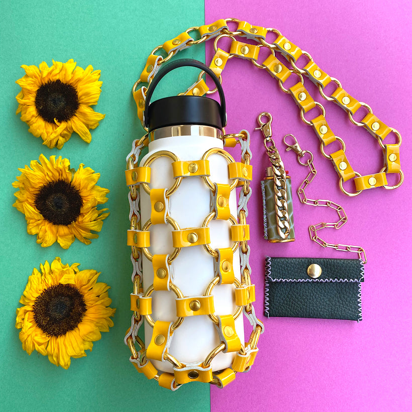 Yellow Hydration Hero Purse