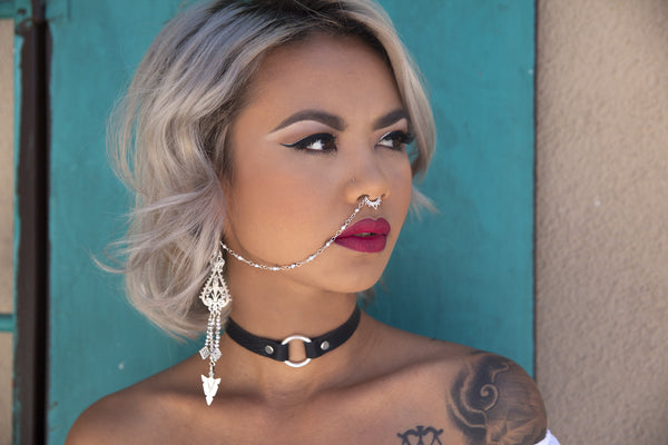 Tribal Arrow Nose Chain – VidaKush