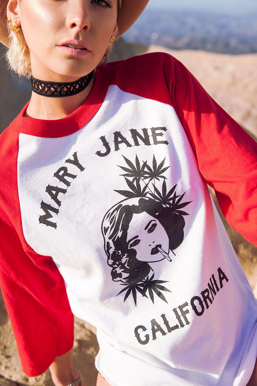 Mary Jane Baseball Tee