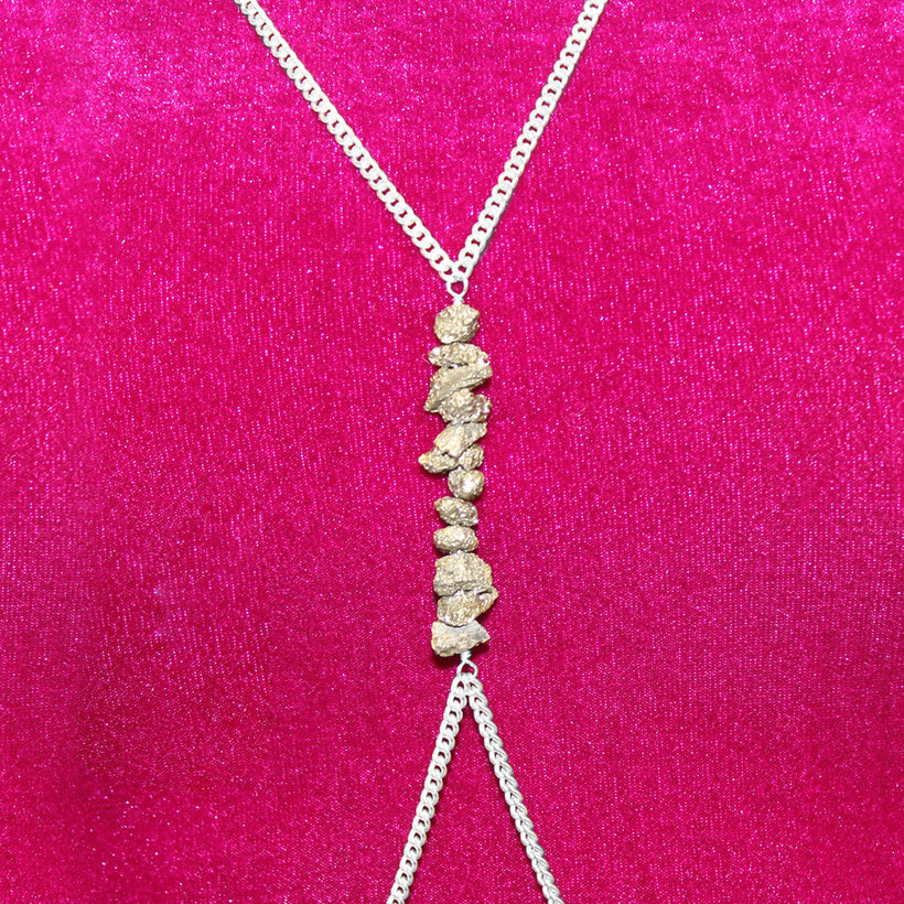 Pyrite Body Chain