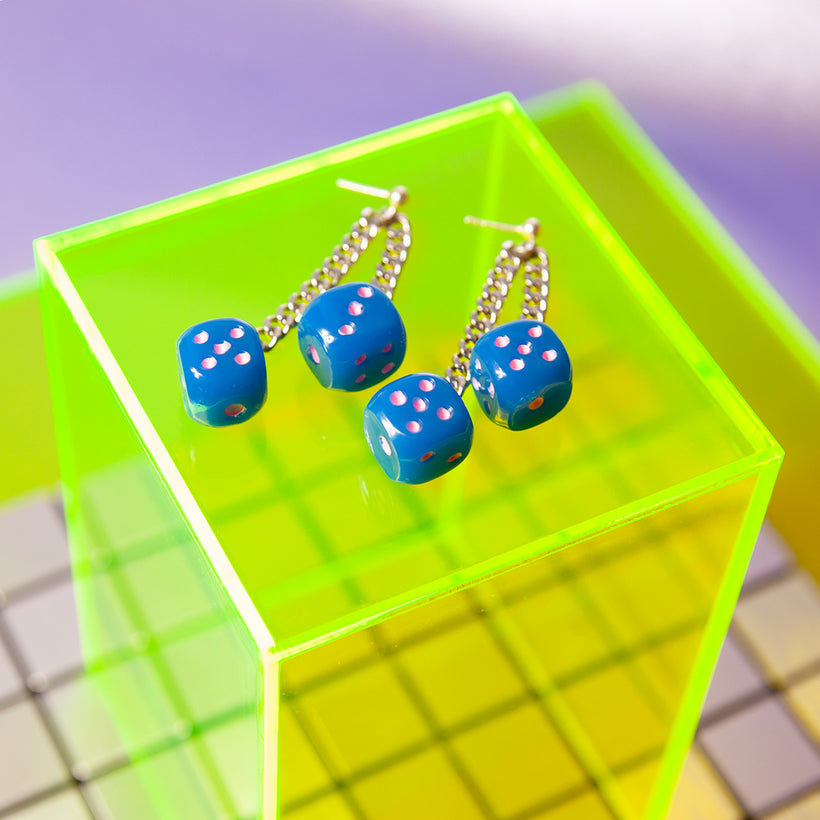 Roll It Twice Dice Earrings