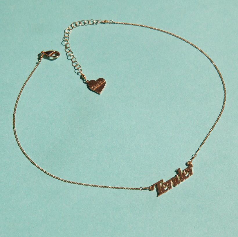 Tender Nameplate Necklace