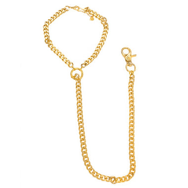Goldie Links Choker & Pocket Chain