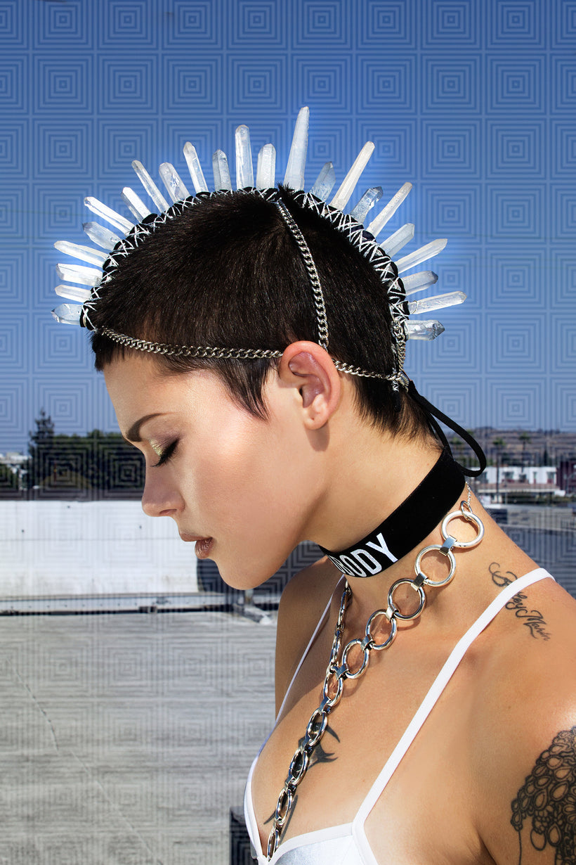 Mania Goddess Mohawk Crown