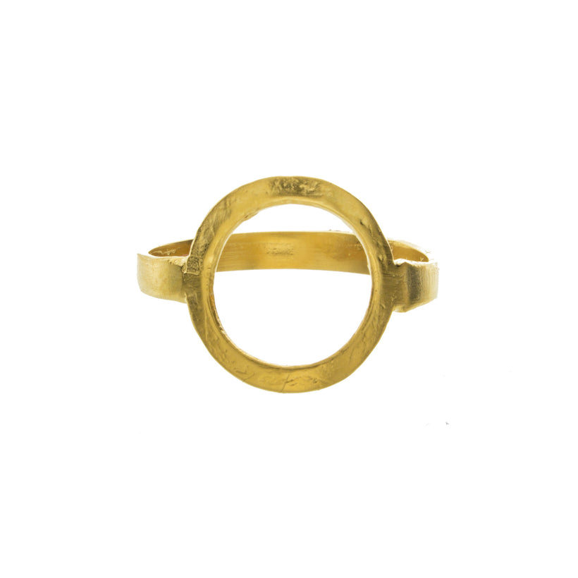 Invisible Space Circle Ring