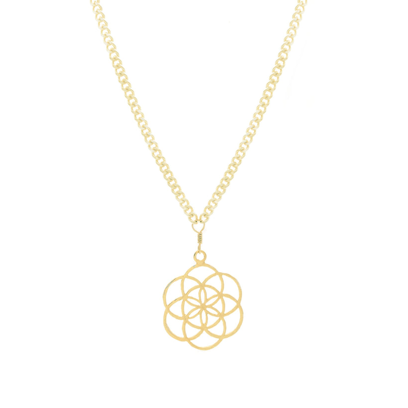 Mini Flower of Life Necklace