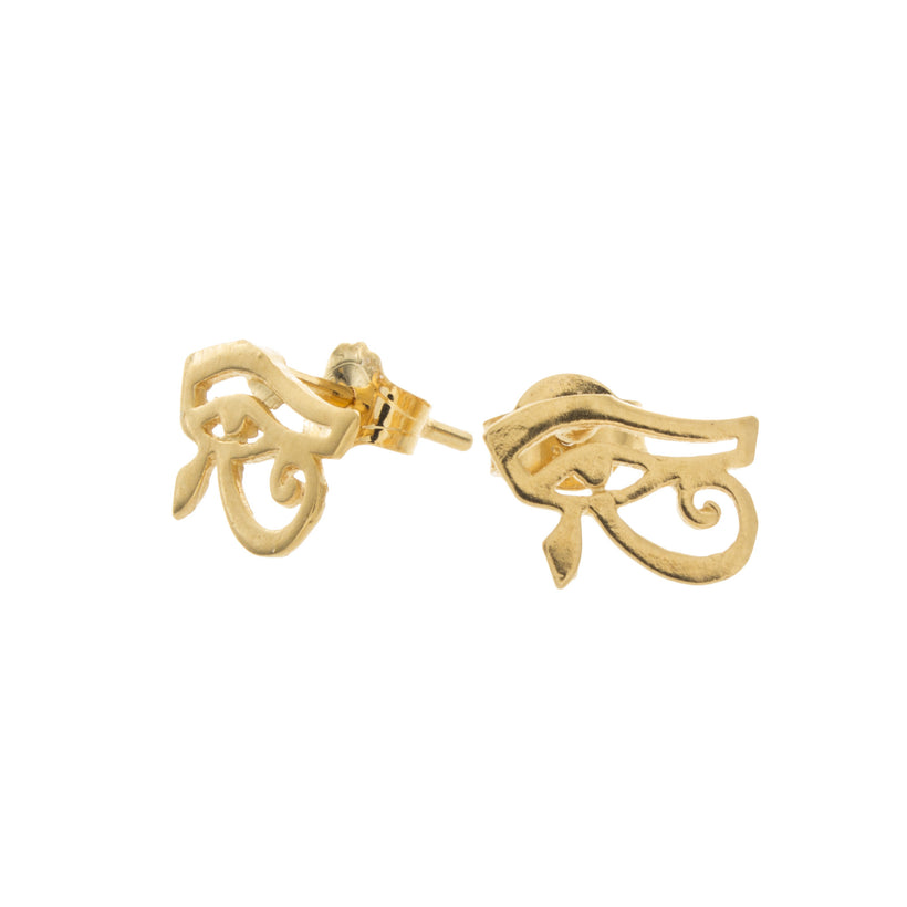 Eye of Horus Stud Earrings