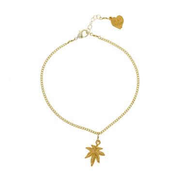 Mary Jane Charm Anklet