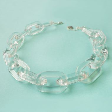 Crystal Clear Chain Choker