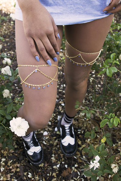 Princess Leg Chain