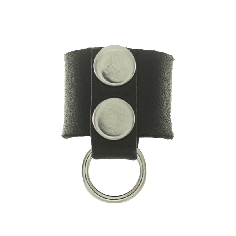 Bad Babe Leather Ring