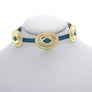 Gold Oval Mini Concho Choker