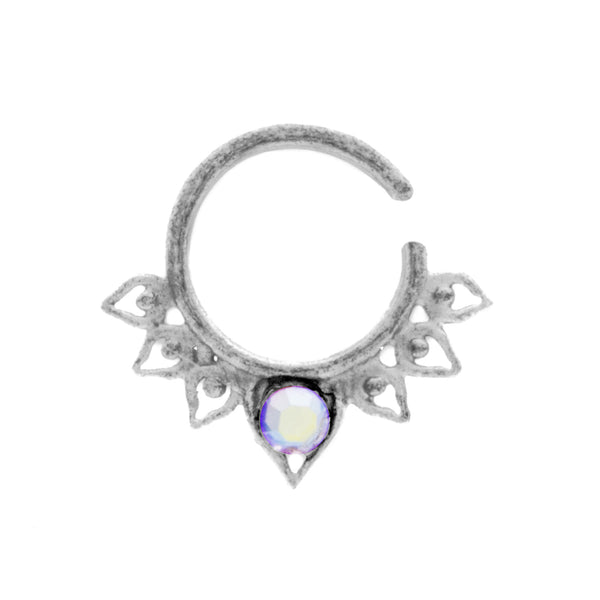 Rainbow Jewel Aurora Ring