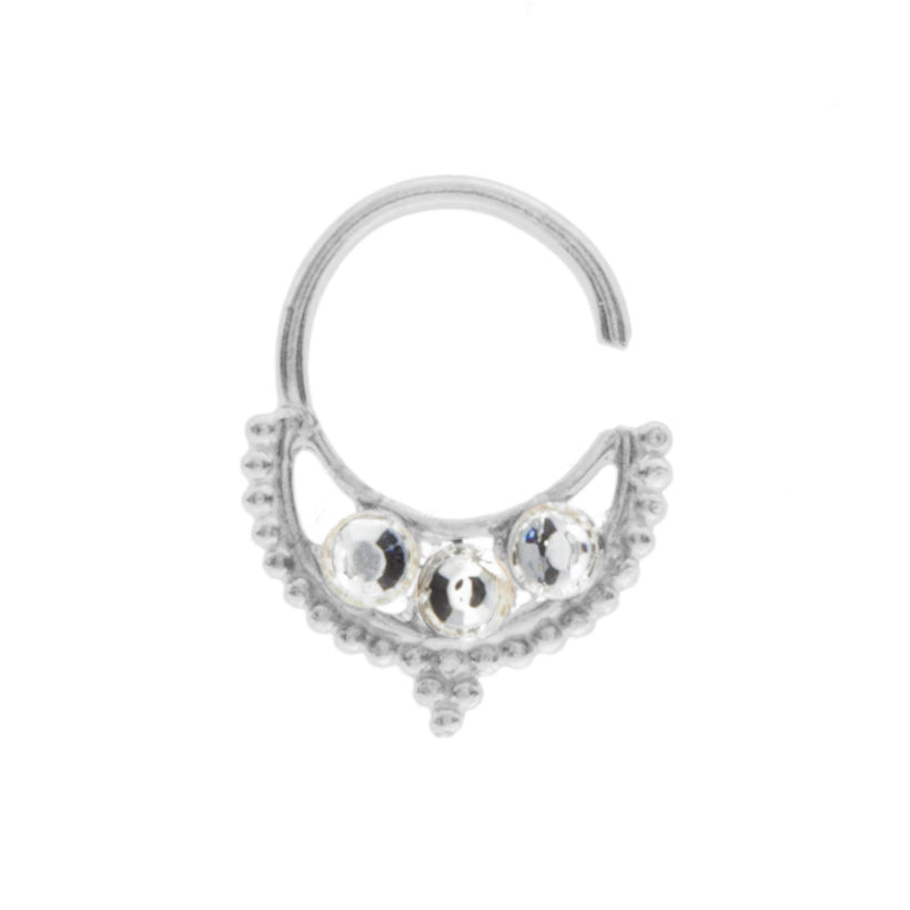 Clear Jewel Freya Ring