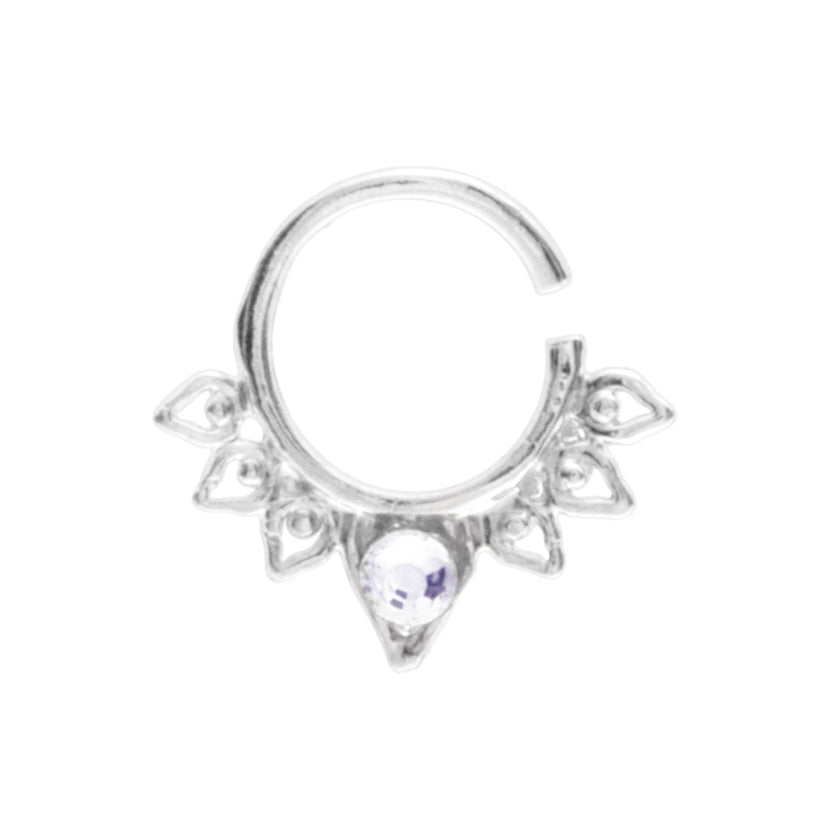 Clear Jewel Aurora Ring