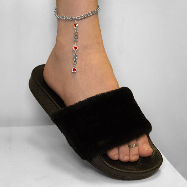 Sailor Mars Anklet