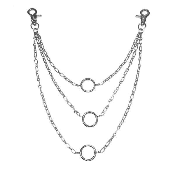 Three Stacks Pocket Chain