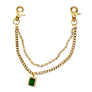 Green and Gold Pocket Chain