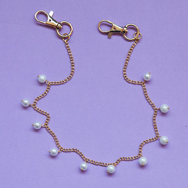 Pearl Drop Pocket Chain