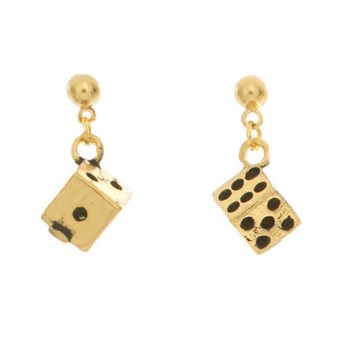 Dice Charm Earrings