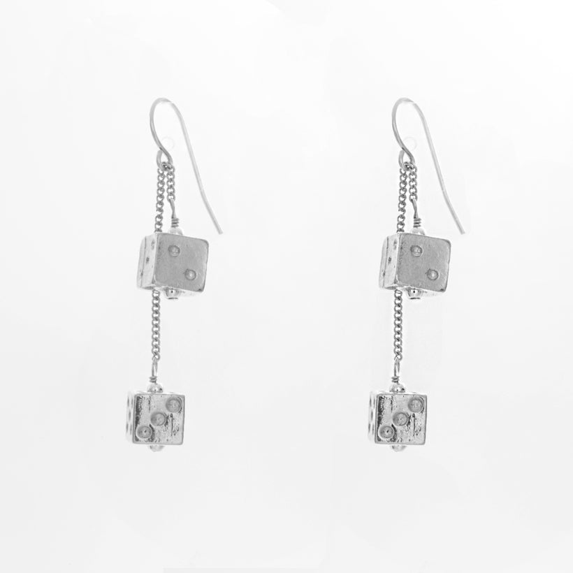 Double Dice Earrings