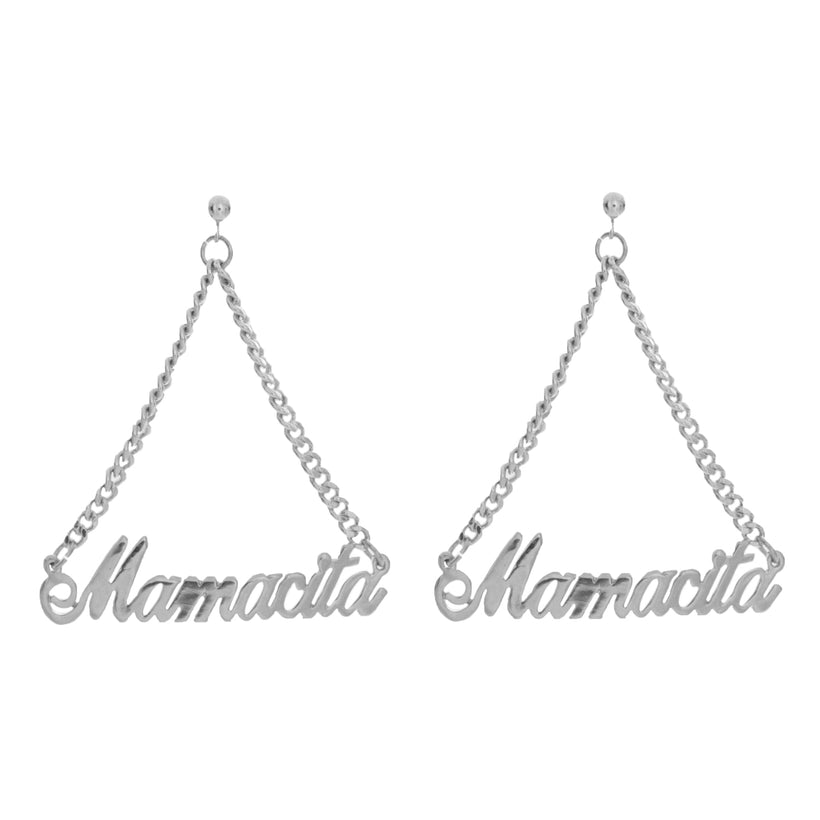 Mamacita Nameplate Earrings