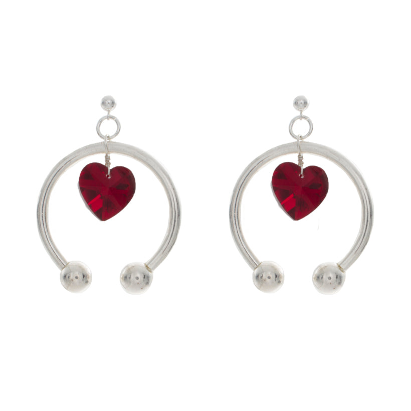 Hanging Love Earrings