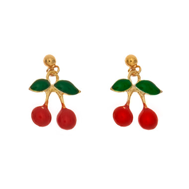 Cherry Charm Earrings