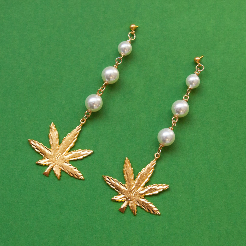 Royal Highness Pearl Earrings