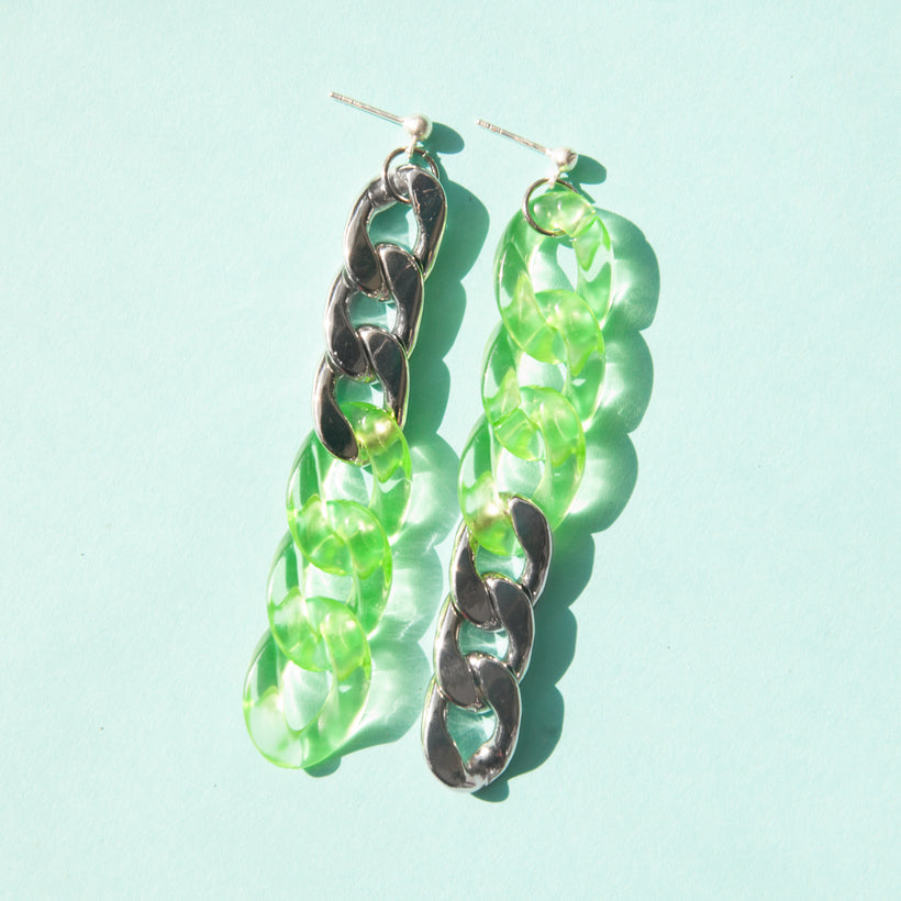 Duotone Mix Matched Earrings