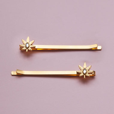 Mary Jane Sparkle Bobby Pins