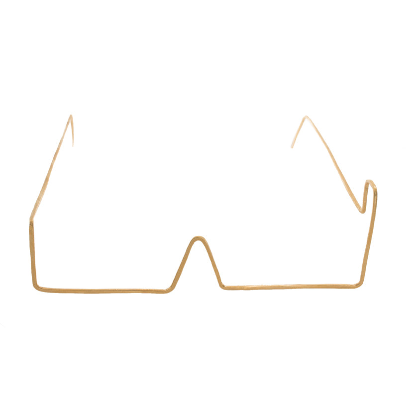 Minimal Square Wire Glasses