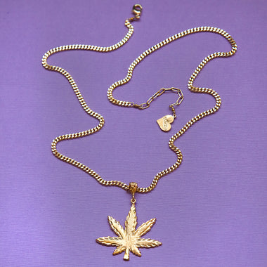 Diamond Cut Mary Jane Necklace