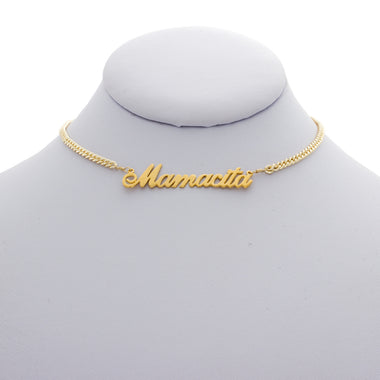 Mamacita Nameplate Necklace