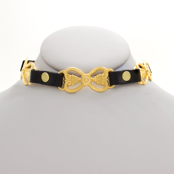Golden Botanical Choker
